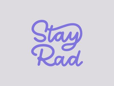 Personal Brand | Stay Rad