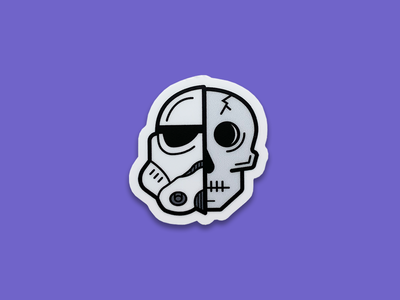 Storm Skull | Sticker