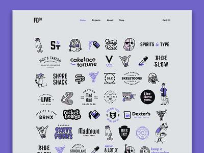 May 1 Reboot | FDCO 2019 purple illustration homepage branding brand personal brand personal site portfolio ui design website webdesign may 1 reboot