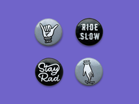The Rad Pack   Buttons
