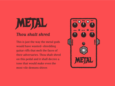 Type Effect | Metal