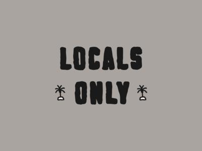 Lingo Type | Locals Only