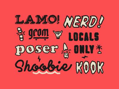 Lingo Type | Shoobie Montage