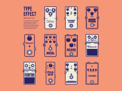 Type Effect | Pedal Layout