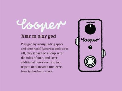 Type Effect | Looper