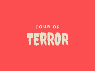 Tour of Terror | October Challenge