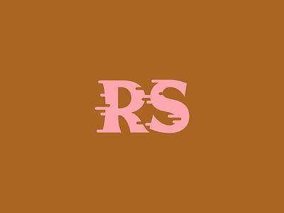 Ride Slow | Monogram logodesign logo branding brand letters rs monogram lettering typeface font typography type