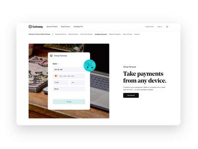 Get Paid Fast payments motion animation ux ui website web design