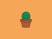 Prickly Potted Plant