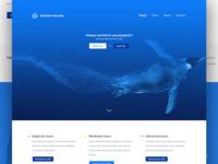 'Deepsea Finland' landing page