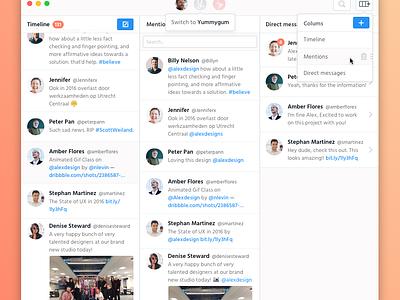 My ideal Twitter app minimal clean dark light redesign tweetbot twitter
