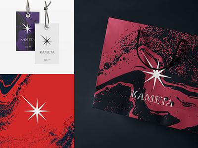 KAMETA TIMAEVA - Branding red flumberg pattern animation graphic design illustration design branding logo