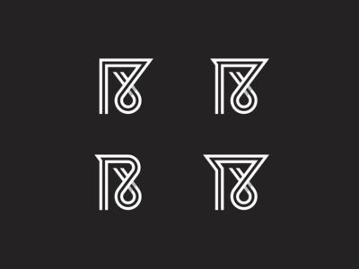 18 Lines gridding grid branding brand logo 18