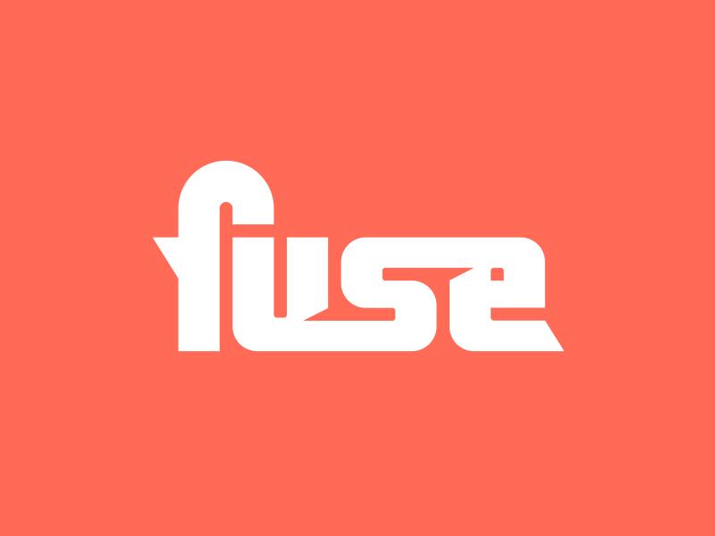 Fuse Logo typography type mark word fuse logo