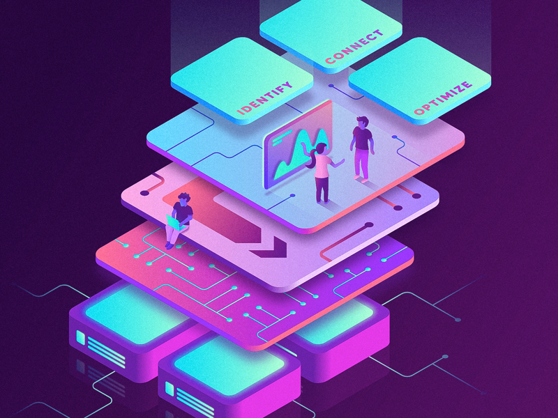 Isometric Platform Diagram By Tanner Wayment On Dribbble