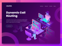Call Routing Landing Page