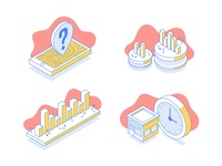 Isometric Blog Illustrations