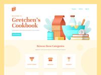 Gretchen's Cookbook Landing