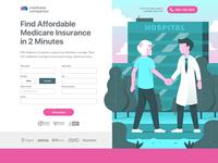 Medicare Form Landing Page