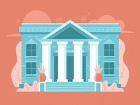 Bank Illustration