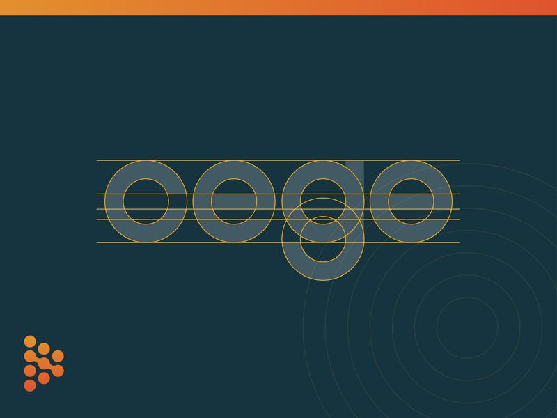 Cege Logo Gridding cege branding brand type custom typography gridding grid logo