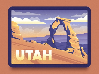Delicate Arch Illustration
