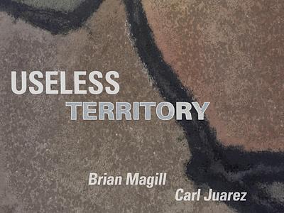 Useless Territory (album cover) photography typography illustration design album cover