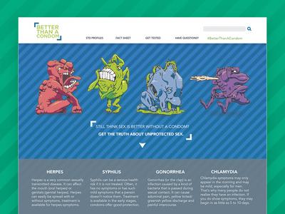 Better Than A Condom: Website