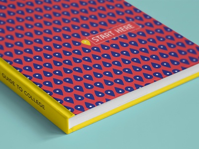 #FirstGenMKE: A First-Generation Guide to College  print book planner quote color pattern design student miad milwaukee