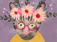 Tabby portrait detail