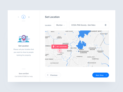 Set Location dashboard marker ux invites web ui address wizard icon illustration interaction map