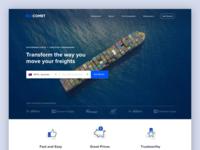GoComet Landing Page