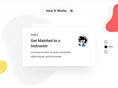 How It Works icons website illustration ux web design ui