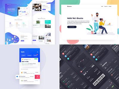 2018 dashboard illustration ux web design ui