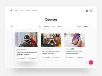 Courses page attachment