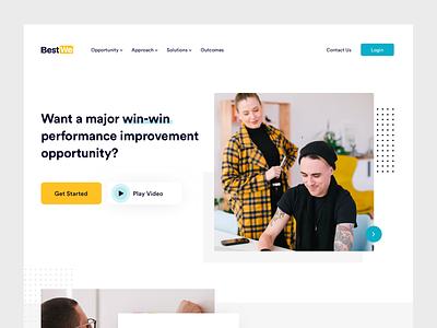 Homepage Design icon landing branding icons interaction website dashboard illustration ux web design ui resources human