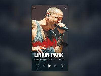 A Music App ux app graphic  design ui