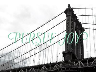 Pursue Joy