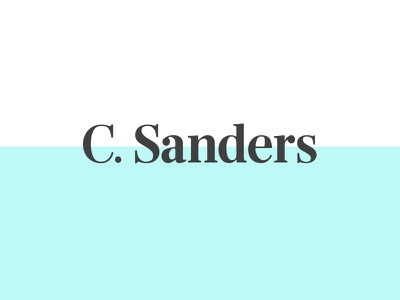 C sanders