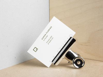 J—A Business Card