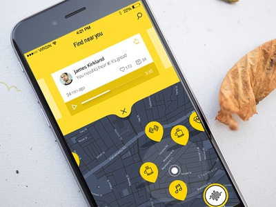 Voice Pozzy app ios sound iphone city