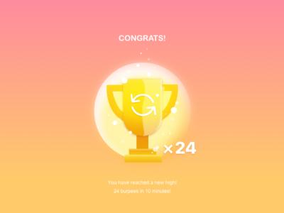Reward gold shine awards prize app cup rewards