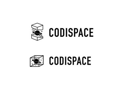 Codispace planet cosmos space logo