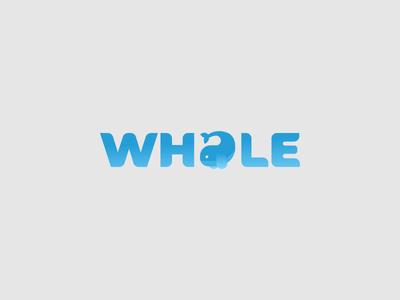 Whale Logo challenge icon logo vector illustration design minimal whales typography whale