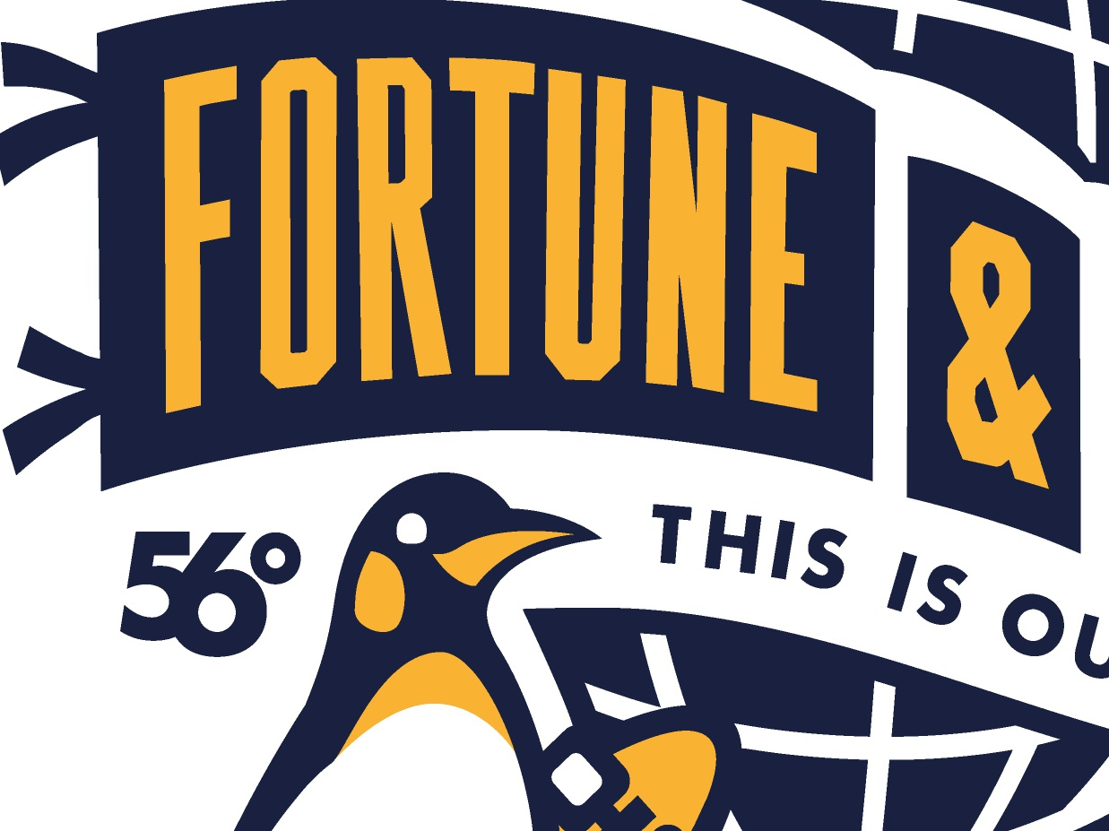 F&G:006 Chest Tee globe penguin tee t-shirt logo apparel fortune and glory dribbble dundee shetland design illustration