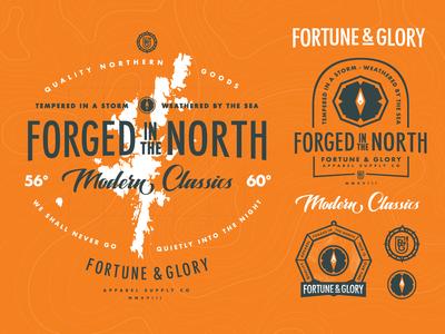 F&G:0007 Modern Classic branding sheet