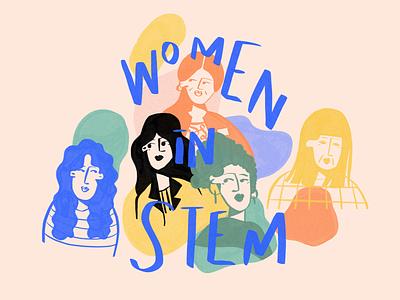 Women in STEM article feminism representation stem illustraion women