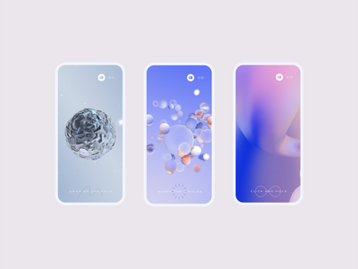 FWA 100 — Mobile ui pastel 3d art experience website webgl 3d illustration