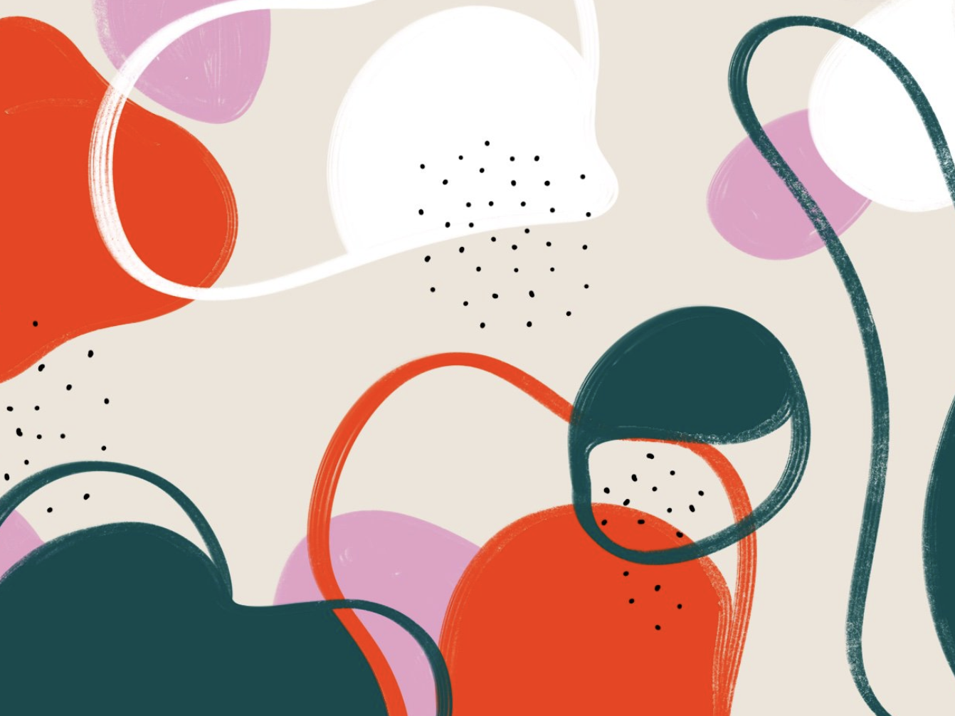 Abstract Shapes By Victoire Douy On Dribbble