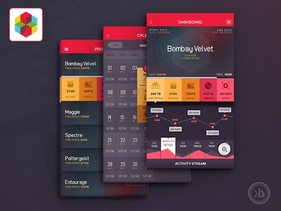 Cinema App app iphone lisiting ux music calendar dashboard projects entertainment cinema movie ui